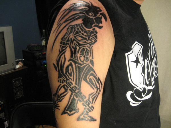 12 tribal warrior tattoos only tribal for Tribal warrior tattoos