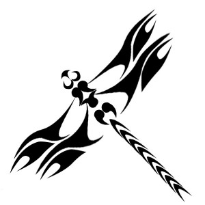 Dragonfly Tattoo Tribal
