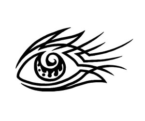 Eye Tribal Tattoo