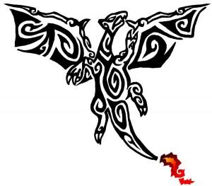 Pokemon Tribal Tattoo Charizard