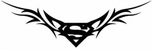 Superman Tribal Tattoos