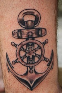 Tribal Anchor Tattoo Images