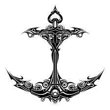 Tribal Anchor Tattoo