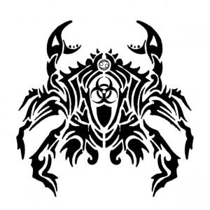 Tribal Cancer Tattoo