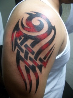 19 Unique Colorful Tribal Tattoos