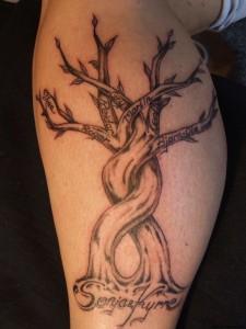 Tribal Family Tree Tattoos