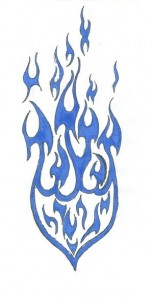 Tribal Fire Tattoo Images