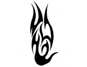 Tribal Fire Tattoo