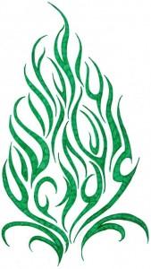 Tribal Fire Tattoos