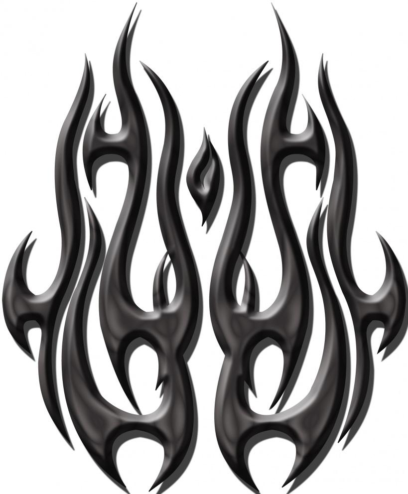 23 wonderful tribal fire and flame tattoo only tribal rh onlytribal com tribal flame tattoos on arm forearm tribal flame tattoos