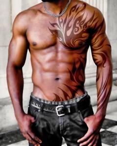 Tribal Flame Tattoos for Men