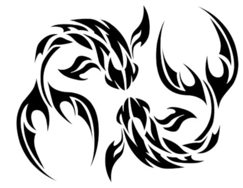 Clipart RidKyqx5T moreover Rose Tattoos 214 together with Tribal Pisces Tattoo furthermore My Wishlist likewise Pruning. on two name tattoo designs