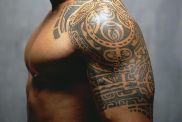 12 tribal warrior tattoos only tribal. Black Bedroom Furniture Sets. Home Design Ideas
