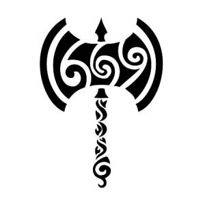 Tribal Warrior Tattoos Design